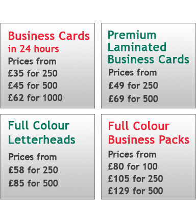 Business Stationery Promotions